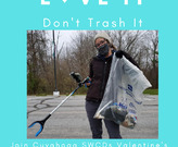 Picking up litter is safe and fun with basic PPE, a smart phone and the Litterati app!