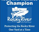 Rocky River Watershed Champion Yard Sign