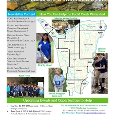 Check out the Euclid Creek Watershed Newsletter Here: